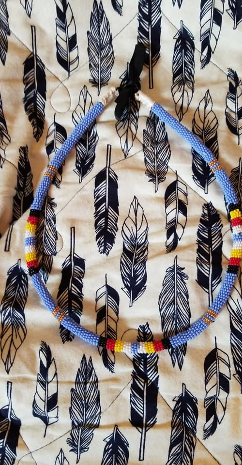Beadwork by Jenna Pendleton of the Lower Sioux Indian Community